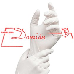 Guantes descartables Latex Medium